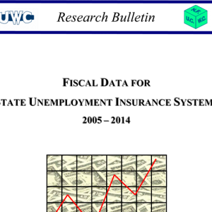 Fiscal Data for State UI Systems 2005 - 2014